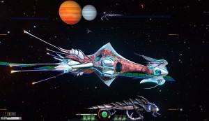 Funky looking spaceship...