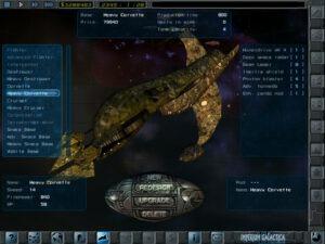 Imperium Galactica II iPad Screenshot