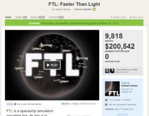 FTL Kickstarter